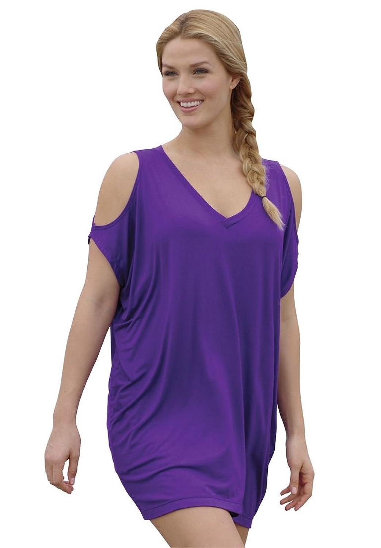 c628e3b956394 Roamans Women s Plus Size Knit Coverup With Cutout Shoulders 70%OFF ...