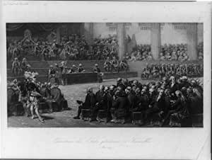 Photo the states general versailles france revolution etats generaux 1789 1839 for Poster revolution france
