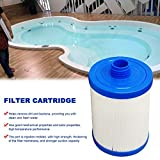 Pool Filter Cartridge - Swimming Pool Filter Cartridges Strainer Children's Pool Single Filter Cylinder SPA Jacuzzi Filter for All Models Hot Tub Spas Swimming Pool for MSPA