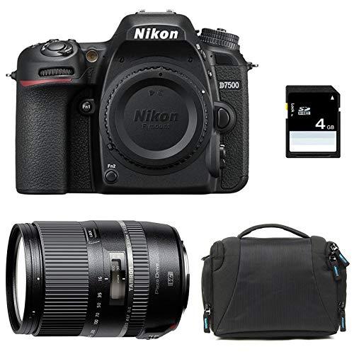 Nikon D7500 + TAMRON 16-300mm VC PZD + Sac + Carte SD 4Go