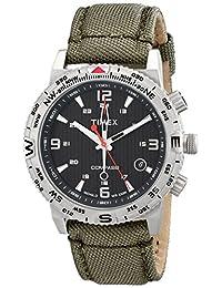 Timex Men's Intelligent Quartz T2P286 Black Nylon Quartz Watch
