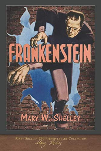 Book cover for Frankenstein