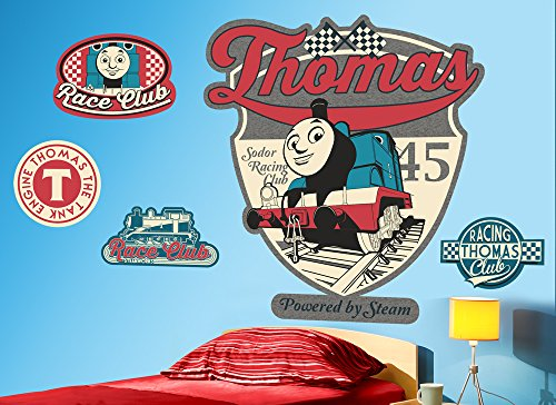 Thomas & Friends Badges Large Wall Decal Set