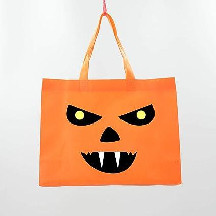 YiYuDe Bolsas de Golosinas de Halloween Bolsa De Dulces De ...