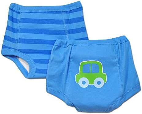 Gerber 2pk Boys Training Pants with Waterproof Liner - 2t/3t