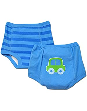 Gerber 2pk Boys Training Pants with Waterproof Liner - 2t/3t