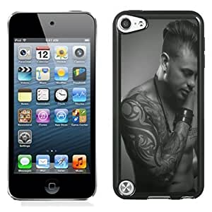 NEW Unique Custom Designed iPod Touch 5 Phone Case With Men Tribal Tattoos_Black Phone Case