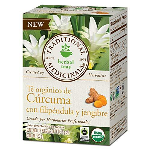 Traditional Medicinals Tea Turmeric Midwest Ginger Organic,