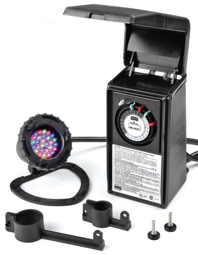 Little Giant 566226 Submersible LED Light and Low Voltage Transformer by Little Giant