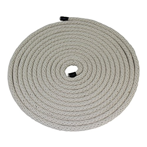 "SGT KNOTS Solid Braid Cotton Rope / Sash Cord 1/8"", 3/16"", 1/4"", 3/8"" Several Colors"