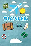 Slovakia: Travel Journal Notebook 120 Pages 6x9 Inches - Vacation Trip Planner Travel Diary Farewell Gift Holiday Planner
