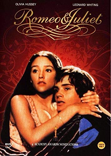 Romeo And Juliet 1968 Dvd Olivia Hussey