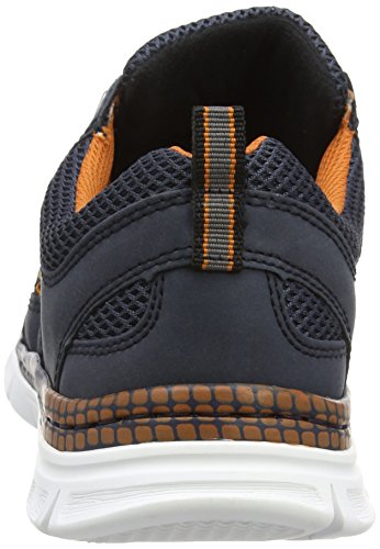 Rieker B4813 Sneakers-men - Zapatillas Hombre Azul - Blau (denim/atlantis / 14)