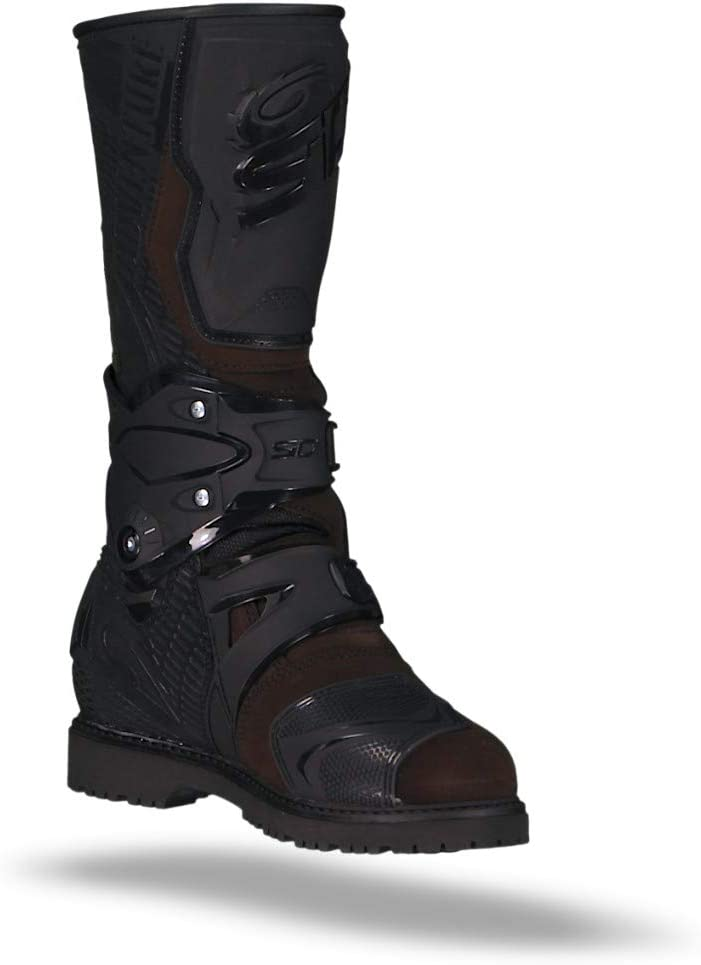 9.5//43, Grey Sidi Adventure 2 Gore-Tex Motorcycle Boots