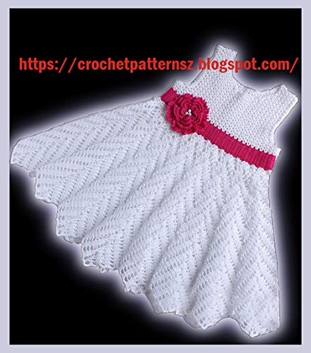 Crochet Baby Dresses - 5