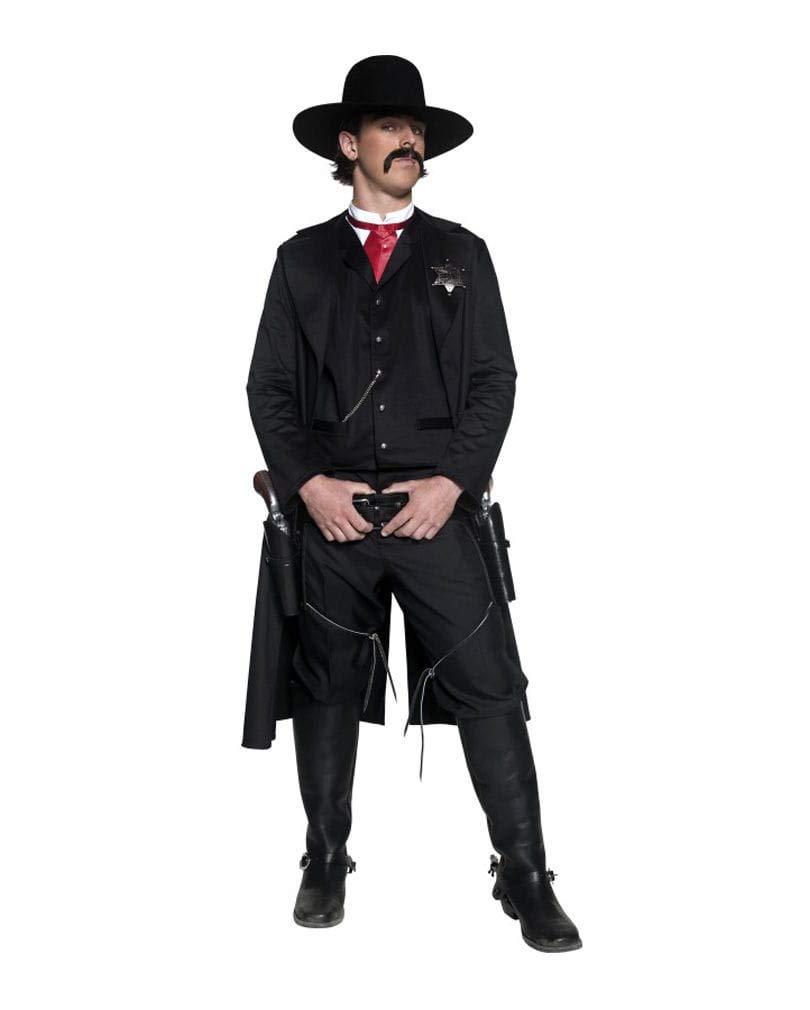Horror-Shop Western Sheriff Sheriff Sheriff Kostüm 4-TLG. 97cb12