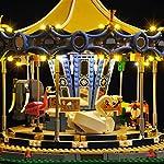 12che-Batteria-caricata-Kit-di-Illuminazione-a-LED-per-Lego-Carousel-10257-Solo-LED-Incluso-Senza-Kit-Lego