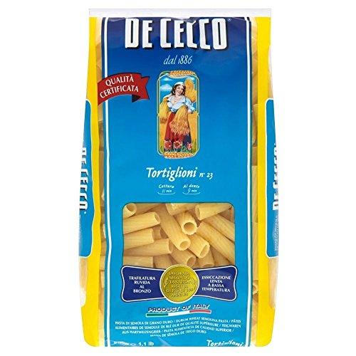 De Cecco Tortiglioni (500g) - Pack of 2 by De Cecco
