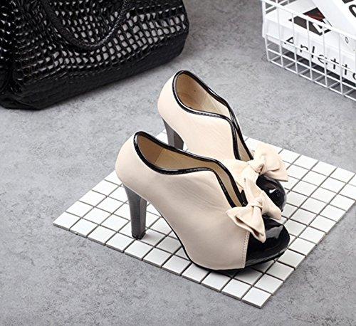 Des Cycle Chaussures De Taiwan 5Cm Bien Marchands Abricot Super 8 Avec Mariage Hauts D'Épaisseur Bouche Avant Petite Talons Talons eight De Princesse Étanches Des Thirty KHSKX Chaussures BvazwIqB