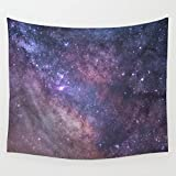 LivebyCare Galaxy Tapestry Wall Hanging Decoration Beach Towel Lightweight Polyester Fabric Decorative Wall Tapestries Decor Art for Family Room Kitchen Playhouse Pub Bar