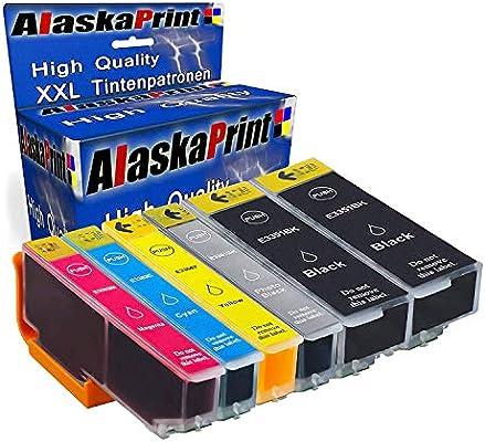 6 Cartuchos de Impresora Comp. para Epson 33XL 33 XL Multipack ...
