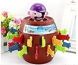 ILOVEDIY New Funny Pop-up Pirate Barrel Sword Game Kids Toy Novelty Children Desktop Gadget Jokes
