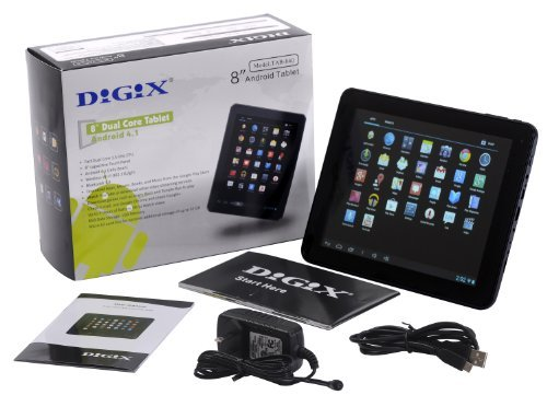 DIGIX TAB-840 Tablet with 8
