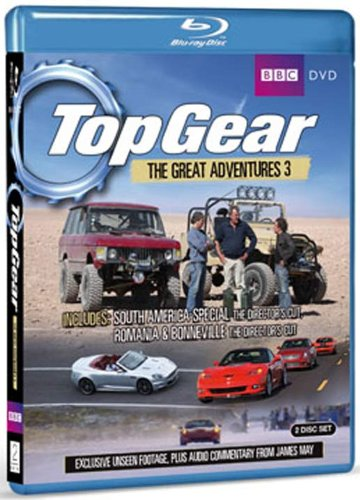 Blu-ray : Top Gear - Great Adventures, Vol. 3 (2 Disc)