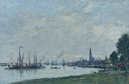 The Museum Outlet - Anvers, the Port, View to the North Citadel, 1971 - Canvas Print Online Buy (60 X 80 - Citadel Stores Outlets