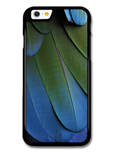 Cool Beautiful Feather Parrot Bird Photography with Blue and Green case for iPhone 6 6S