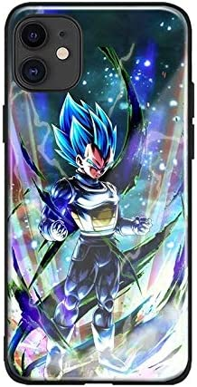 Amazon.com: Japan Anime Cute Dragonball Dragon Ball Z Son Goku Vegeta Super Tempered Glass Cases for iPhone 12 Pro Max Cover Coque Back Shell (6, iPhone 12 Pro Max)