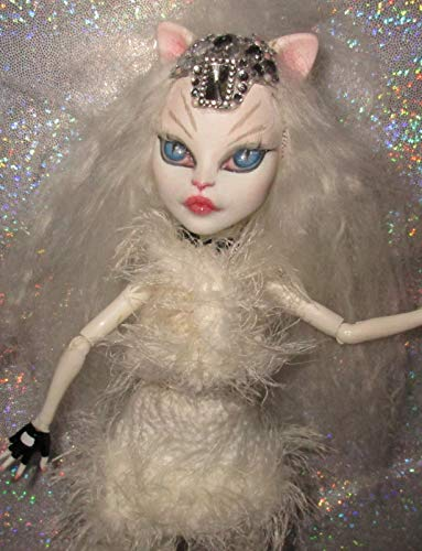 DANCING CAT OOAK Doll Monster High Custom Repaint Catrine for sale  Delivered anywhere in USA