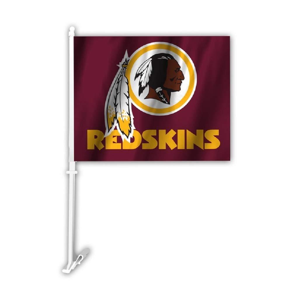 Fremont Die Washington Redskins Car Flag