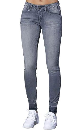 Freeman T Porter - Jeans - Skinny - Femme Gris Fonner  Amazon.fr ... f26c02d698b0