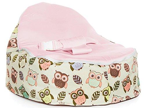 Chibebe Hoot Snuggle Pod (Pink)