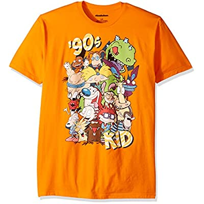 Wholesale Nickelodeon Men's Ren and Stimpy, Rugrats and Classic Show Characters T-Shirt hot sale