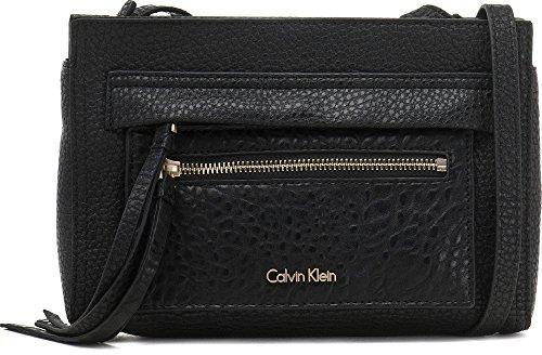 CALVIN KLEIN, sacs à main pour femmes, sacs de soirée, pochettes, sacs en bandoulière, besaces, noir, 23 x 17 x 4 cm (H x L x P)