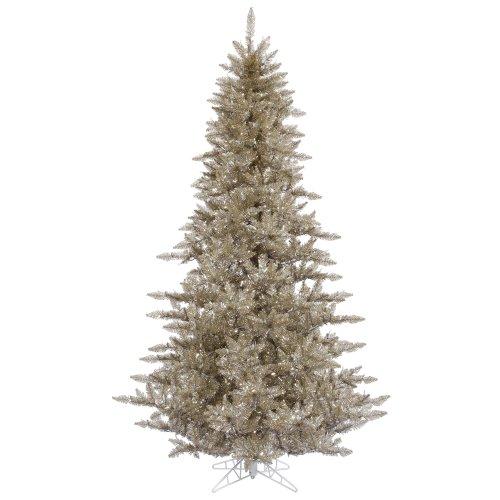 Vickerman Champagne Fir Christmas Tree (Christmas Vickerman Tree Champagne)