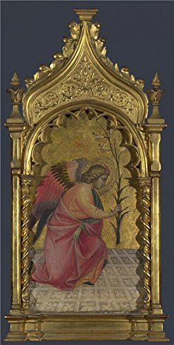 Oil Painting 'Giovanni Dal Ponte-Saint Gabriel,about1420-4', 24 x 47 inch / 61 x 120 cm , on High Definition HD canvas prints is for Gifts And Basement, Dining Room And - Row Saints Sunglasses