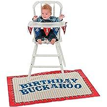 First Birthday Cowboy High Chair Set - Theme Parties & Western