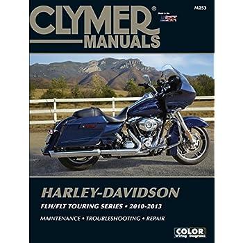 amazon com clymer m430 4 repair manual for harley davidson flh rh amazon com 2004 FLHTCSE 2004 FLHTCSE