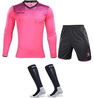 Amazon.com : KELME Football Goalkeeper Long-Sleeve Suit ...