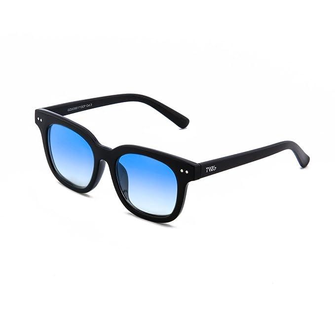 Gafas de sol TWIG NASH degradadas hombre/mujer (Negro / Azul ...