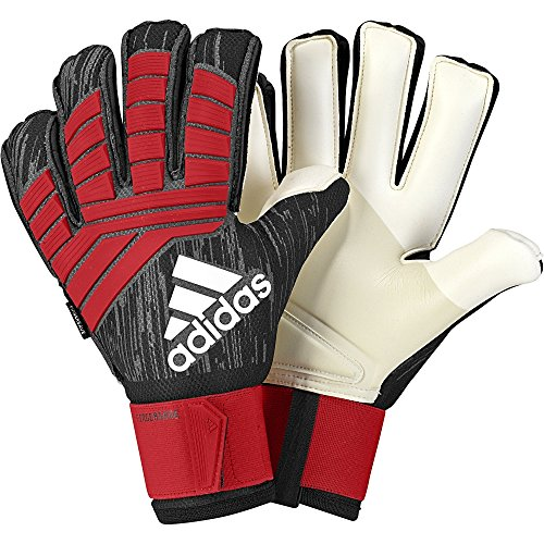 adidas Soccer Predator Pro Fingersave Goalkeeper Gloves (10) (Keeper Control Soccer)