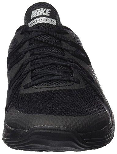 Black 001 BLACK BLACK Metallic Nike Women MTLC Silver SILVER Lunar TR METALLIC Wmns Exceed qWBSxZaw