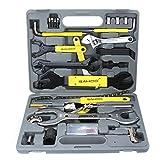 44 in 1 ROSWHEEL Bike Bicycle Repairing Tool Set Kit Case Box Universal for Mountain Road Bicycle