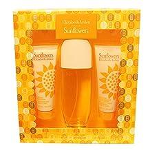 Sunflowers Perfume by Elizabeth Arden for Women. 3 Pc. Gift Set.