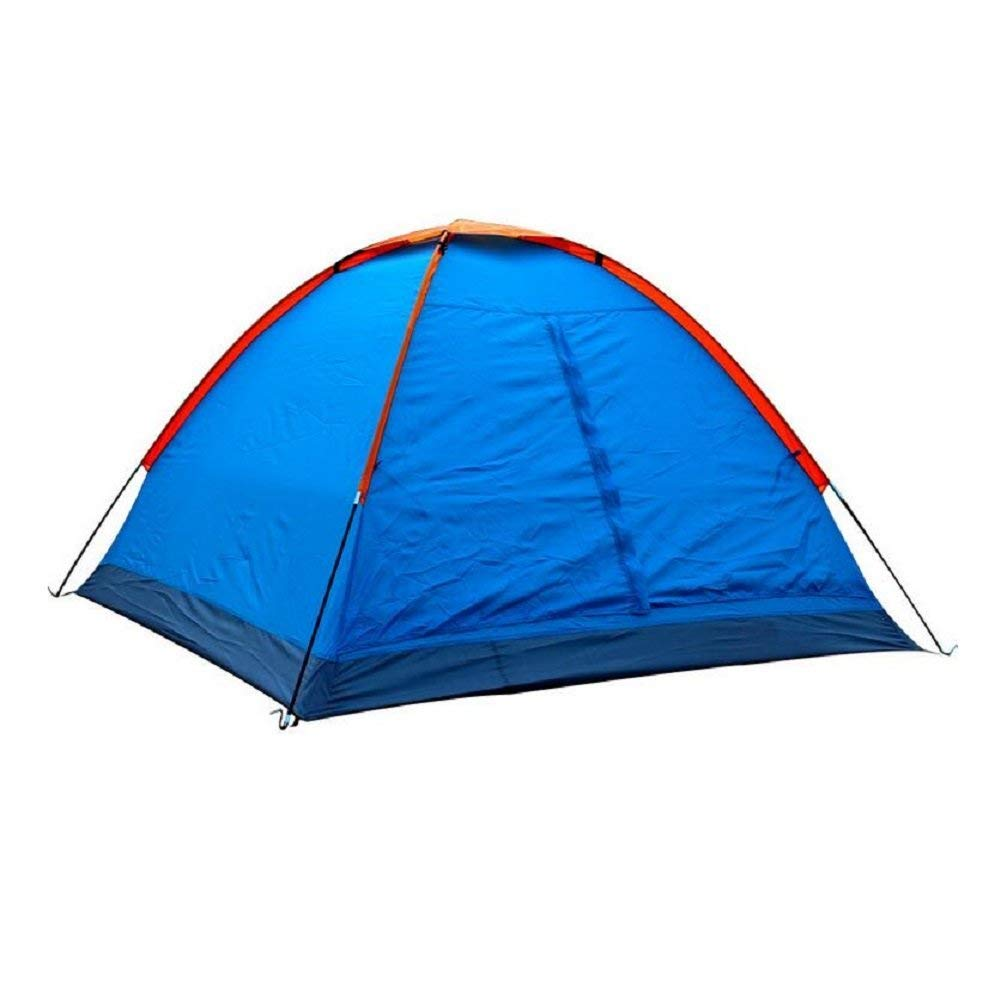 JIE Guo Outdoor Produkte Outdoor Camping Zelte blau, Anti-Tear solide und langlebig, Single Layer Regen, Sonnencreme, Strand Casual Zelte, Ultra-Thin Oxford Tuch Zelt