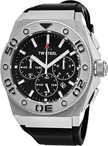 TW Steel CEO Diver Analog Black Dial Men's Watch CE5009