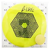 #4: Latitude 64 Limited Edition Ricky Wysocki Autographed Hexabomb Opto Line Compass Midrange Golf Disc [Colors may vary]